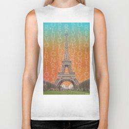 Revolutions - Eiffel Tower Biker Tank