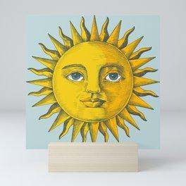 Sun Painting Mini Art Print