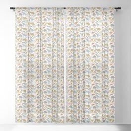 Dinosaur Friends Sheer Curtain