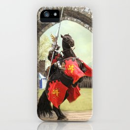 Knight Of The Round Table iPhone Case