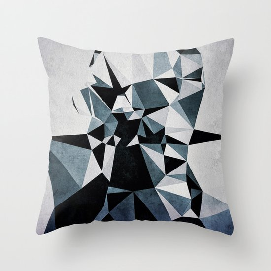 pyly fyce Throw Pillow
