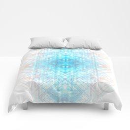 Techno-Lattice: Summer Skies Comforters