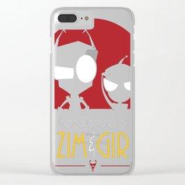 Adventures of Zim _ Gir Clear iPhone Case