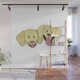 The Labs 2 Wall Mural