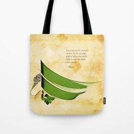 Arabic Calligraphy - Rumi - Strange Pull Tote Bag