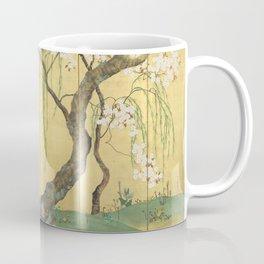 Cherry, Maple and Budding Willow Tree Coffee Mug