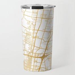 ALBUQUERQUE NEW MEXICO CITY STREET MAP ART Travel Mug