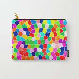 Rainbow Stained Glass Carry-All Pouch