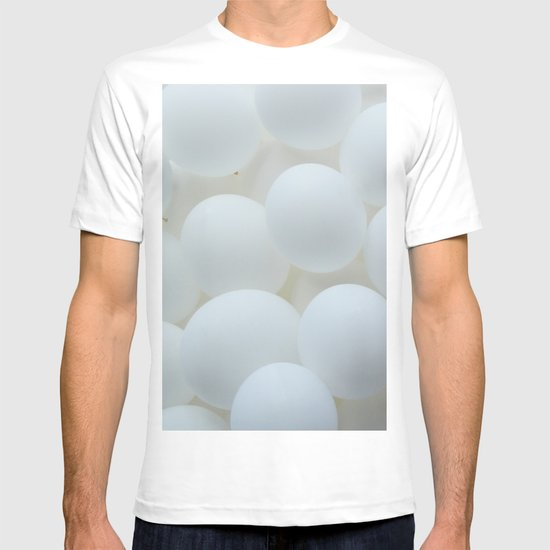white balloons T-shirt