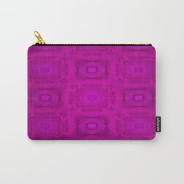 Lilac-devidet-pattern Carry-All Pouch