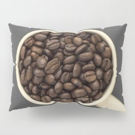 cup of coffee beans Pillow Sham