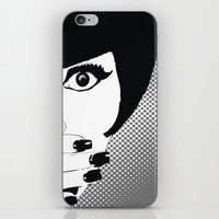 silent iPhone & iPod Skins featuring silent by Ezgi Kaya