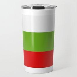 Bulgarian flag Travel Mug