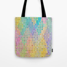 Colorful diamond hole punch Tote Bag