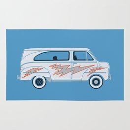 Grease Van Lightning Rug