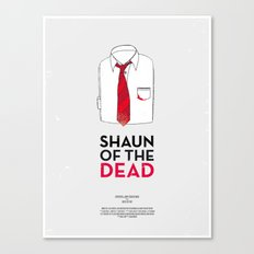 Dress The Part - Shaun of the Dead Canvas Print