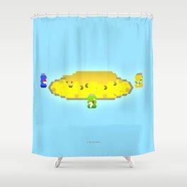 THEBEEHA Shower Curtain