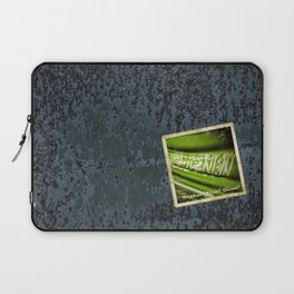 Grunge sticker of Kingdom of Saudi Arabia flag Laptop Sleeve