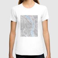 oregon T-shirts featuring Portland Oregon by Anne E. McGraw