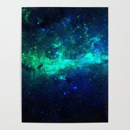 Bright Nebula Poster