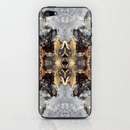 Diamond Ice Frozen Autumn - Debra Cortese photo art iPhone Skin