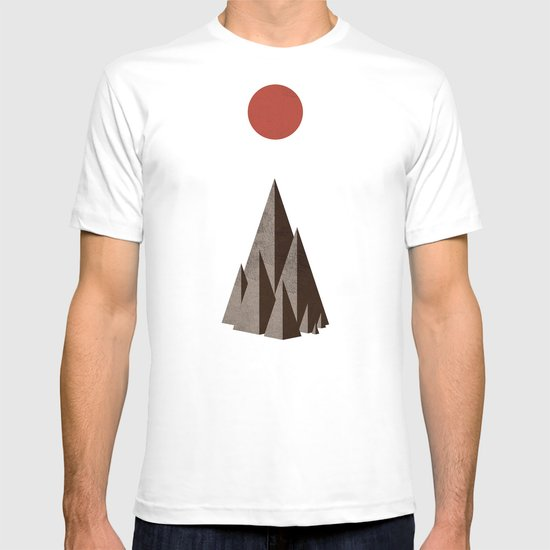 Minimal Mountains T-shirt