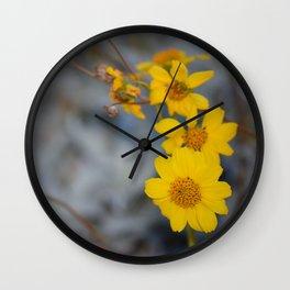 The Yellow Daisy Wall Clock