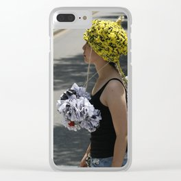 Protect Your Head Clear iPhone Case