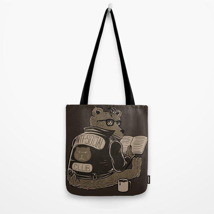 Anti Social Club Tote Bag