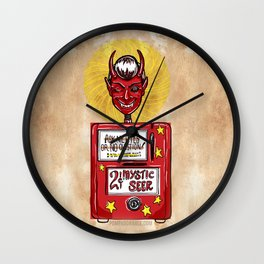 Twilight Zone Mystic Seer Wall Clock