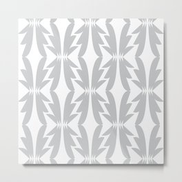 Shapes of Gray Metal Print