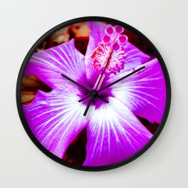 Shifted Color Wall Clock