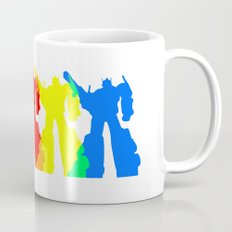 Optimus Prime Colors Mug
