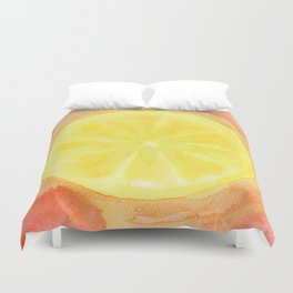 Acid Lemon Duvet Cover