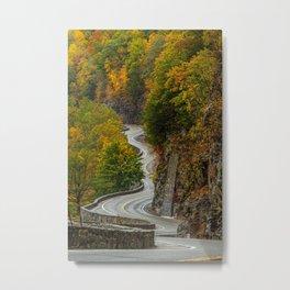 Hawk's Nest New York State Metal Print