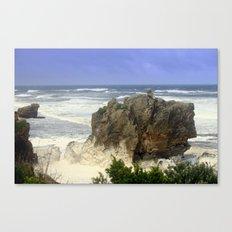 Sea Foam Residue Canvas Print
