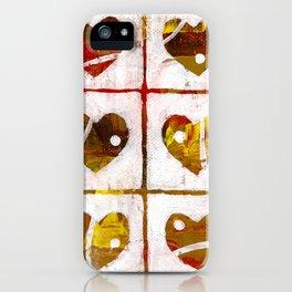 Nine hearts iPhone Case