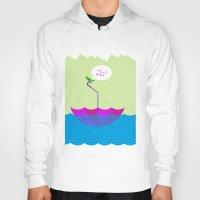 sailing Hoodies featuring sailing by dabones