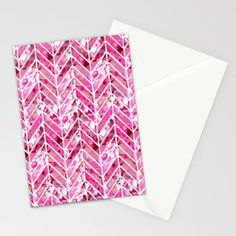 Cherry Bomb Chevron Stationery Cards