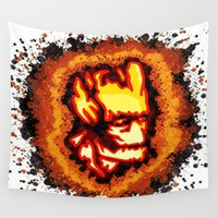 groot Wall Tapestries featuring Groot  by grapeloverarts