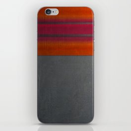 """""""Architecture, cement texture & colorful"""" iPhone Skin"""