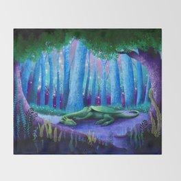 The Sleeping Dragon Throw Blanket