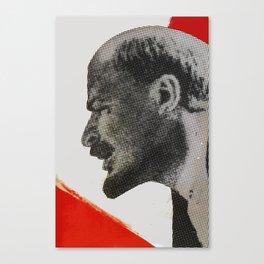 Vladimir Ilyich Ulyanov alias Lenin poster Canvas Print