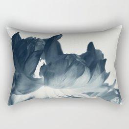 Blue Paeonia #2 Rectangular Pillow