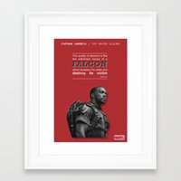 literary Framed Art Prints featuring SAM WILSON - LITERARY QUOTES by Samantha Panther