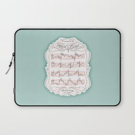 The Sound of My Heart Beat Laptop Sleeve