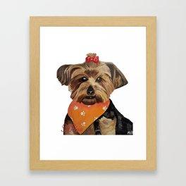 khloe Framed Art Print