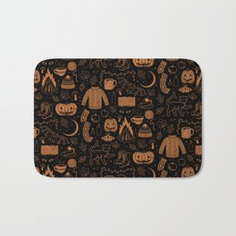 Autumn Nights: Halloween Bath Mat