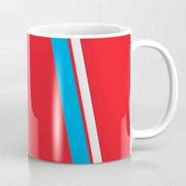 Red Slant Coffee Mug