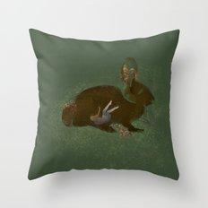 Burrow Throw Pillow